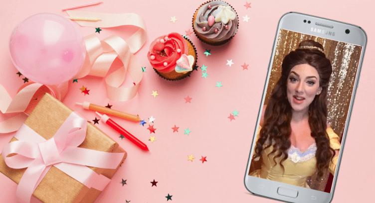 Pre-Recorded Princess Video Message - Virtual Birthday Party Ideas