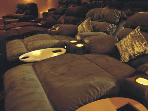 GIP Ebony Private Lounge Couples Seat