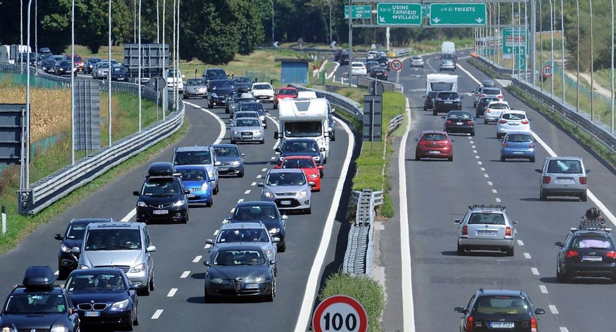 Autostrada svincolo Palmanova - Udine