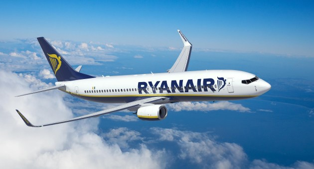 Nuova rotta Ryanair da Trieste a Palermo