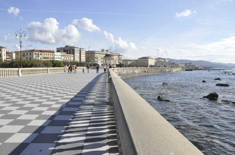 Lungomare di Livorno - terrazza Mascagni