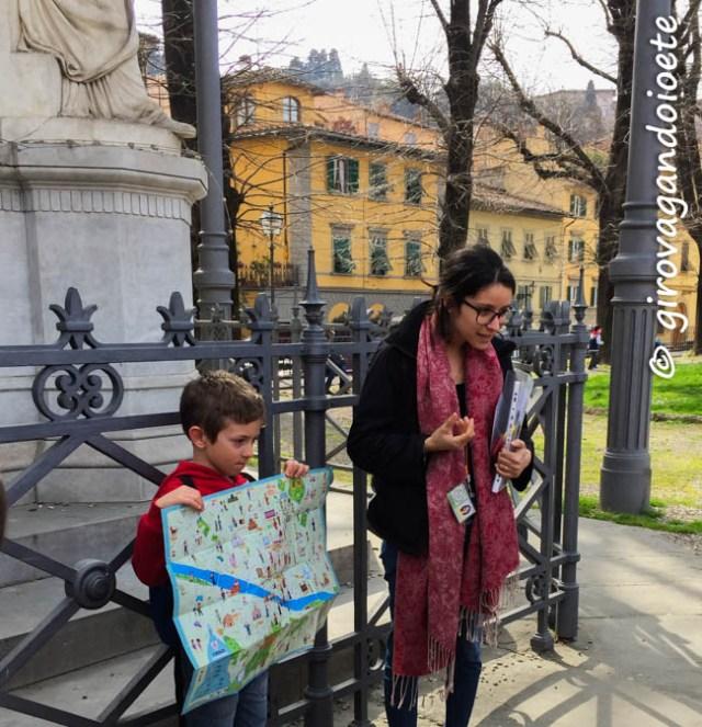 Safari urbano a Firenze - mappa ItalyforKids