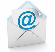 Enveloppe avec logo e-mail