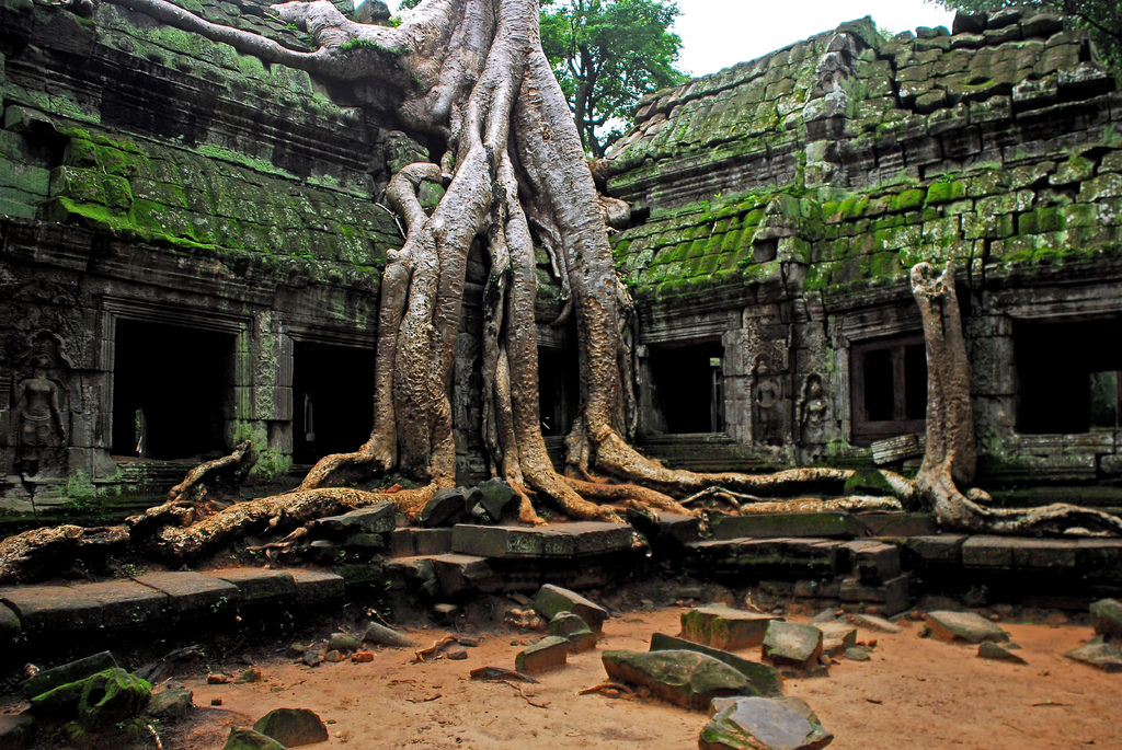 Angkor Wat Temple. Source: Flickr. Author: Lecercle