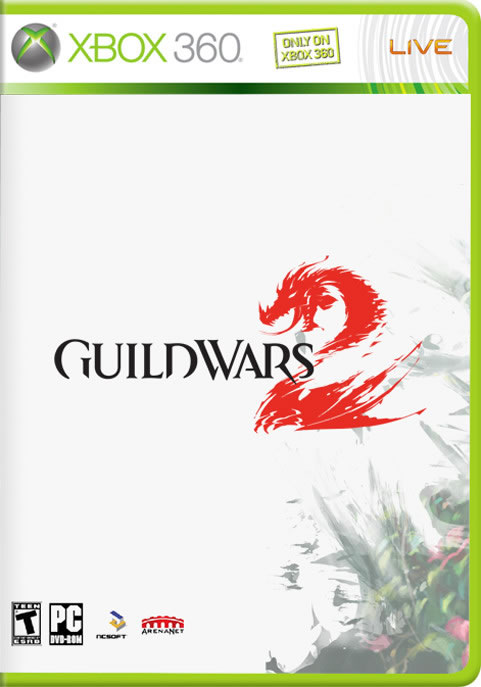 Guild Wars 2 XBox 360 Packaging