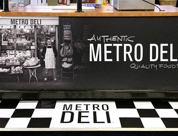 Metro Deli Environmental Signage
