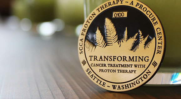 SCCA Proton Therapy Medal
