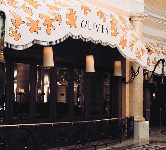 Bellagio Olives Signage and Logo