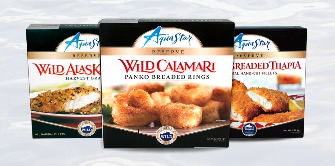 AquaStar Box Packaging Lineup
