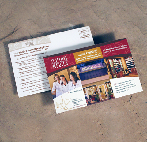 NaturoMedica Marketing Collateral