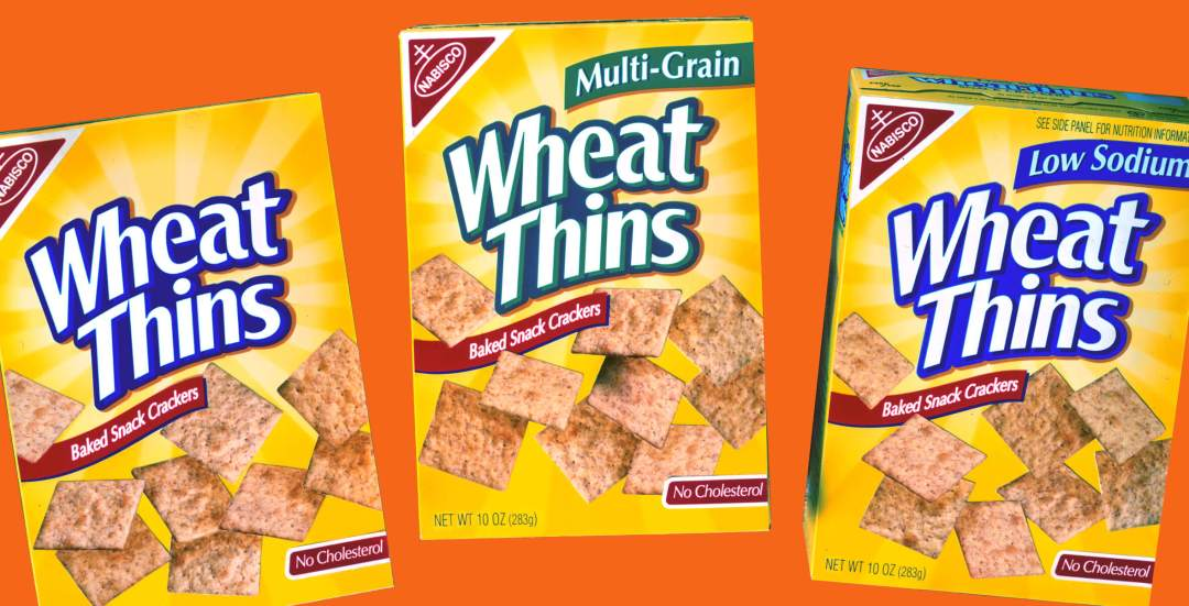 Nabisco Wheat Thins Packaging
