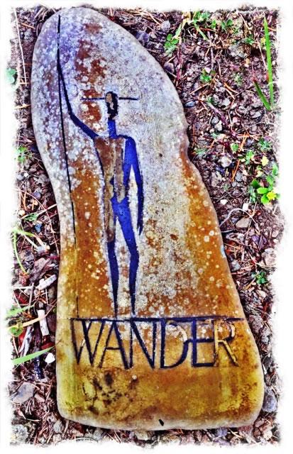 WANDER. WONDER. WISDOM. THE ART OF GETTING LOST.