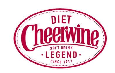 Cheerwine Label Diet Label