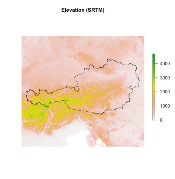 SRTM Austria Total