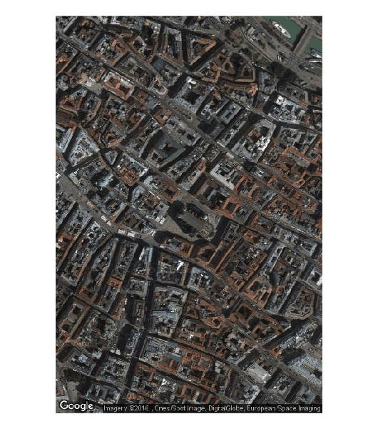 Google maps image of Vienna