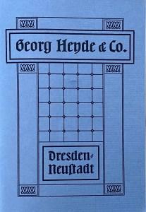 Georg Heyde & Co. Katalogumschlag