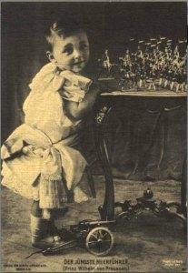 Kronprinz und Bleifiguren