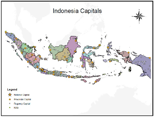 Indonesia Capital Cities Project Giscorps