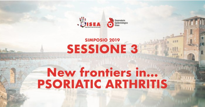 #gisea2019 - New Frontiers in... Psoriatic Arthritis