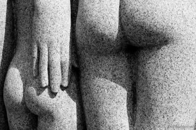 Detail from a Gustav Vigeland Sculpture