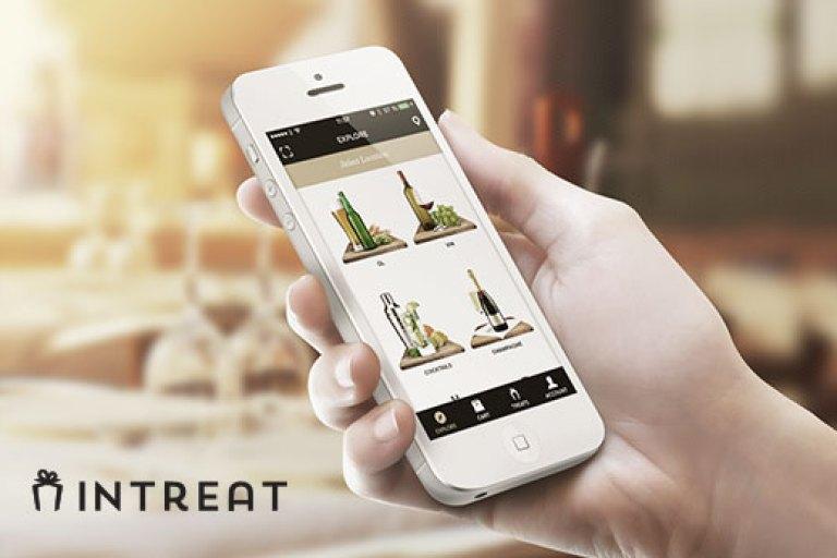 Intreat – Skicka gåvor med mobilen