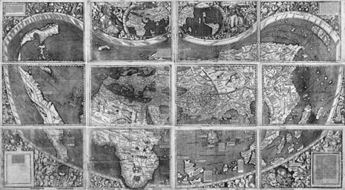 Waldseemueller Map of 1507