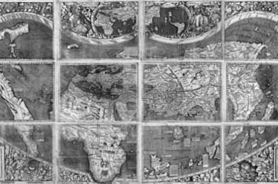 Waldseemueller Map of 1507