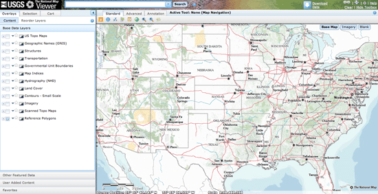 National Map Viewer