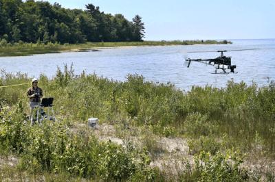 Benjamin Heumann and the UAV