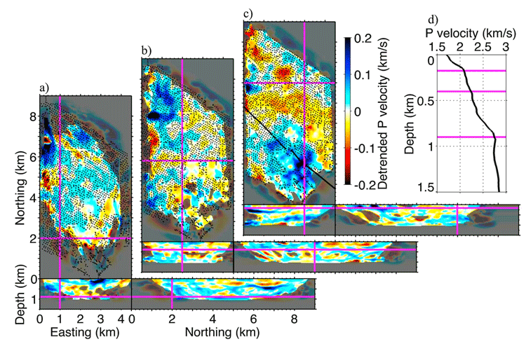 By mapping out the seismic waves generated by human activity, researchers are able to create a map of underground conditions. Image: Nakata et al, 2015.
