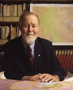 Roger Tomlinson. Archival Photograph from the Tomlinson Collection, Geography and Map Division, Library of Congress.