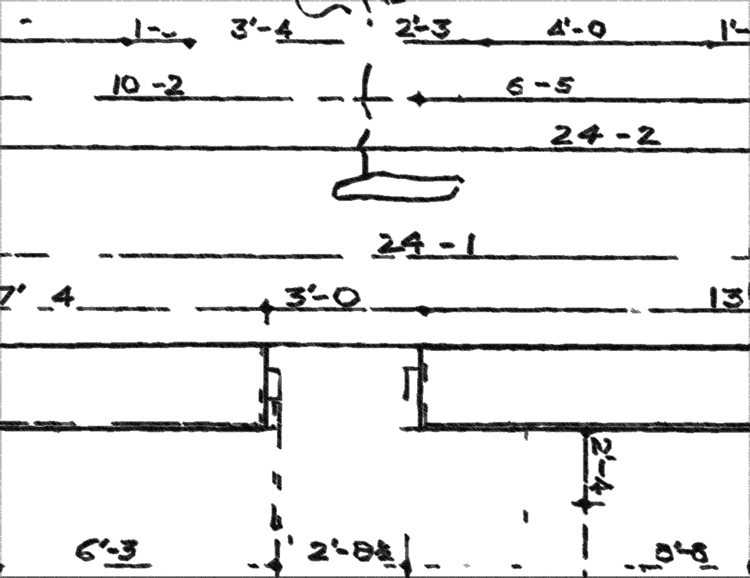 A basic illustration showing schematics of a localized map. Source: O. Harne.