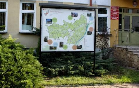 Samborzec - drukowane mapy