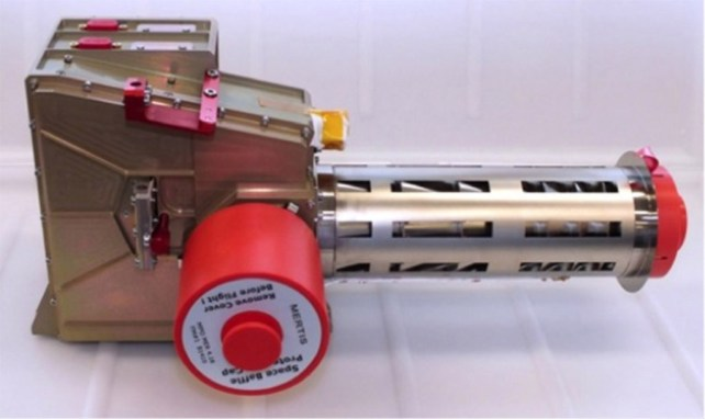 Figure 2. Flight model of the MERTIS instrument.