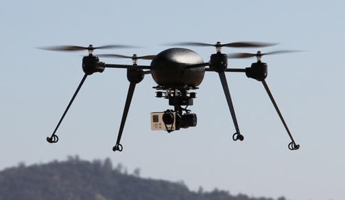 New UAS from Draganflyer X4-ES and Pix4D to Provide 3D