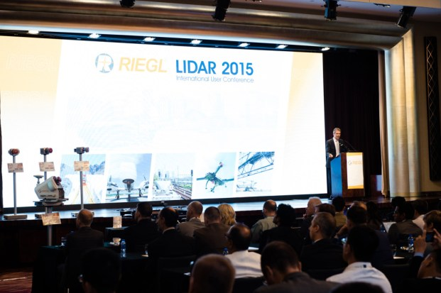 Dr. Andreas Ullrich, CTO, gave a technical presentation on RIEGL's core technologies.