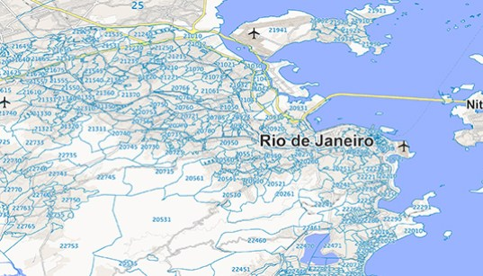 Gfk publishes new map edition for brazil and mexico gis resources brazil and mexico geodata and map gumiabroncs Choice Image