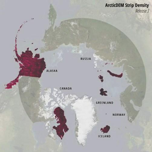 ArcticDEM Strip Density