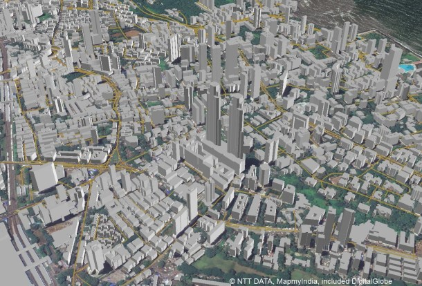 3D Map Datasets for India