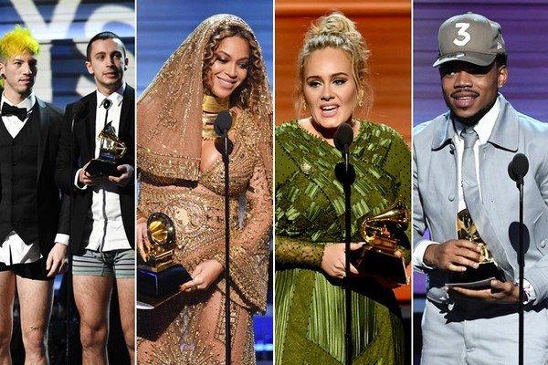 2017 GRAMMY: Full List Of 2017 GRAMMY Awards Winners