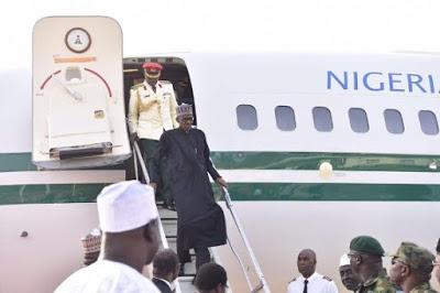 BREAKING: President Buhari returns to Nigeria today!