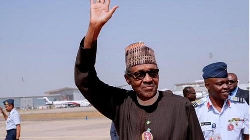 Photos News: President Buhari Returns To Nigeria After His Trip To Jordan