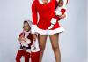 Toyin Lawani flaunts hot legs for Christmas shoot