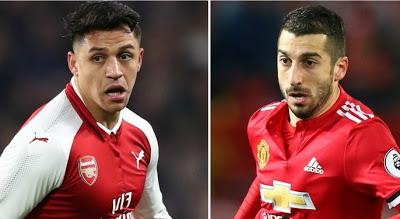 Finally, Sanchez Joins Man Utd In Swap Deal With Henrikh Mkhitaryan