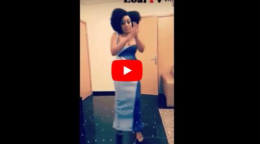 "Nollywood Actress, Rita Dominic, Shows Off Her ""Shaku Shaku"" Dancing Skills [Video]"