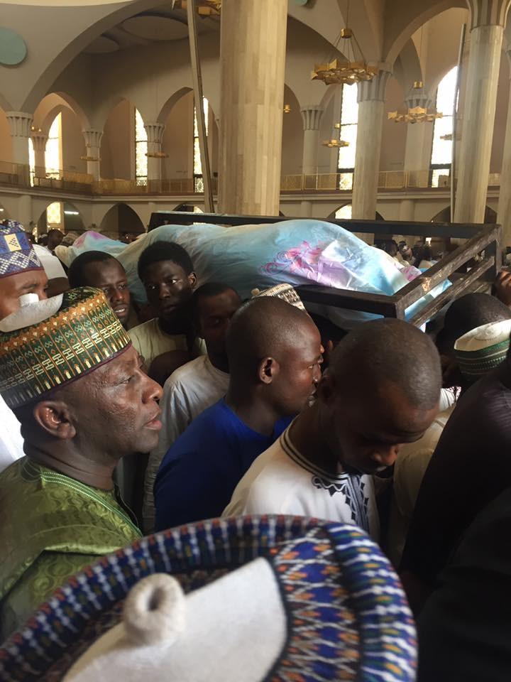 Final Photos from the burial of Senator Ali Wakili in Abuja
