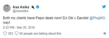 Finally, DJ Cuppy Confirms She's Asa Asika's Girlfriend