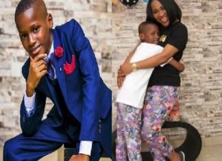 Zion, 2Face Idibia's Son, Celebrates His 10th Birthday [Photos]