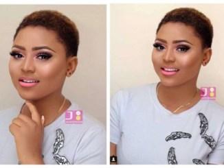 Lovely New Makeup Photos of Regina Daniels [Photos]