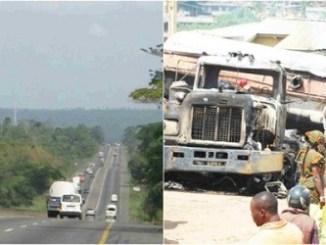 9 Burnt To Death, 31 Injured In Kaduna-Kano Expressway Crash [Photos]
